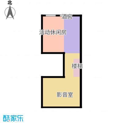 恒盛尚海湾滨海76.74㎡北区C1地下一层户型10室