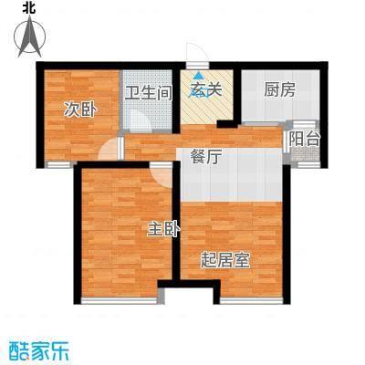 天一绿海67.71㎡户型10室