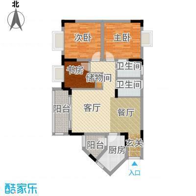 兴现金鼎龙泉87.65㎡B-3-1(已售完)户型10室