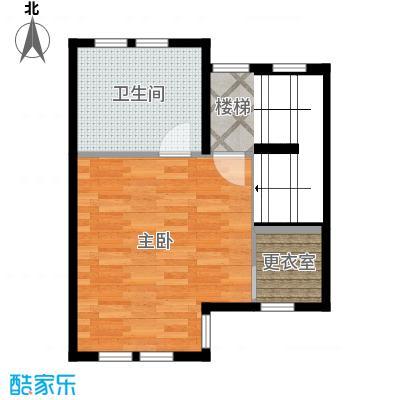 首创国际半岛285.00㎡H2-b三层户型10室