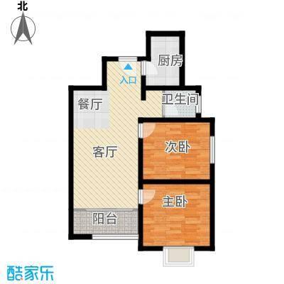 香缤国际城72.01㎡户型10室