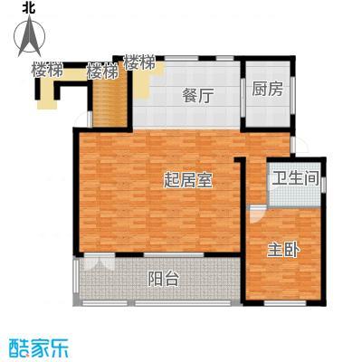 时光墅137.44㎡A首层平面图户型10室