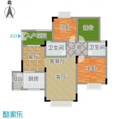 兴现金鼎龙泉93.72㎡A-18(已售完)户型10室