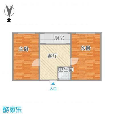 乐园一区户型图