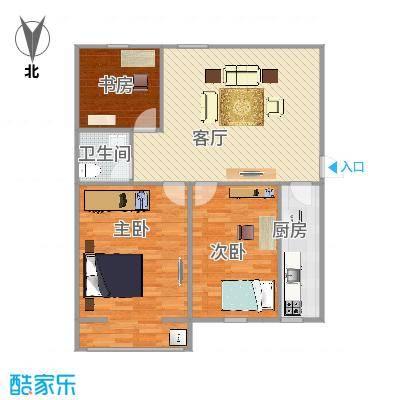 海联小区户型图3室
