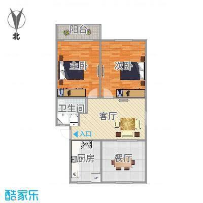 宝山路呼玛三村469号户型图