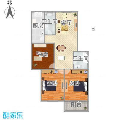锦江苑户型图