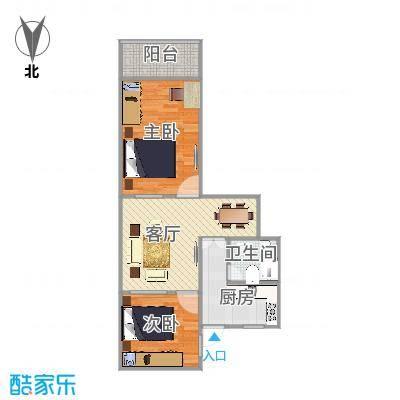 新渔东路60号安龙大楼1108室户型图