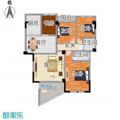 东方丽景户型图