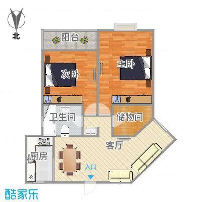 奎江公寓户型图