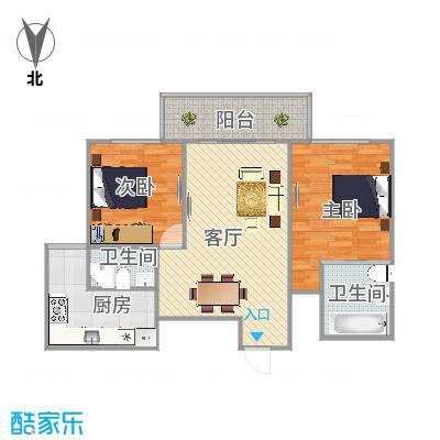 浦东成山路2399弄9号602室海上国际花园户型图