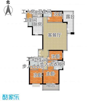 富力十号260.31㎡A1栋一单元01室18层平面图户型10室