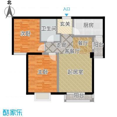 弘泽城93.00㎡16号楼-H户型10室