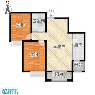 融科贻锦台99.00㎡0a户型2室2厅1卫