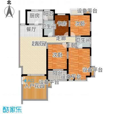 檀香园153.00㎡檀香园户型图C结构户型(7/8张)户型10室