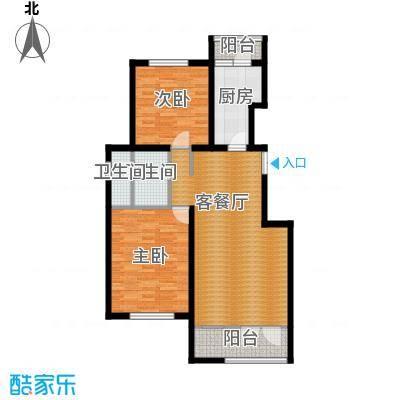 万通生态城新新家园108.00㎡洋房4F户型10室