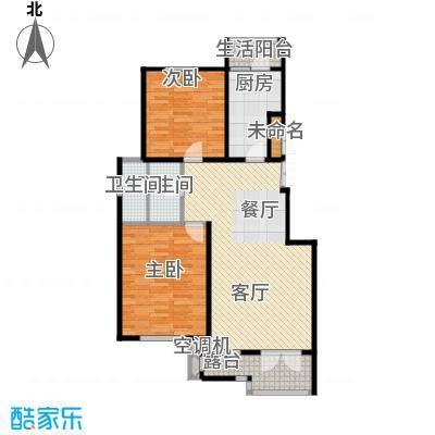 万通生态城新新家园108.00㎡洋房3F户型10室