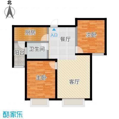 贻成豪庭91.00㎡B2户型10室