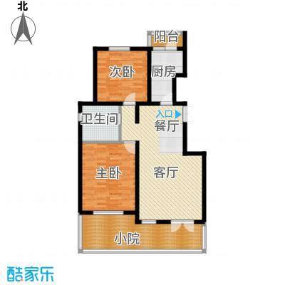 万通生态城新新家园105.00㎡洋房户型10室
