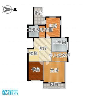 绿地诺丁山140.00㎡n5东-4F户型3室1厅2卫