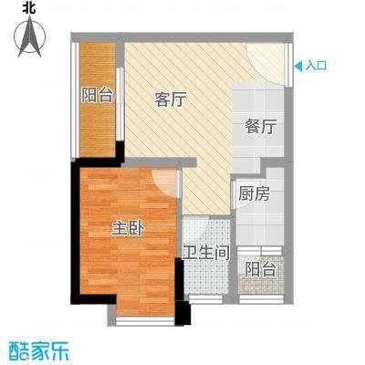 安鸿景苑43.37㎡户型10室