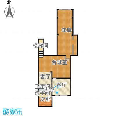 绿地诺丁山110.00㎡n5东-0F架空层户型1室1厅1卫