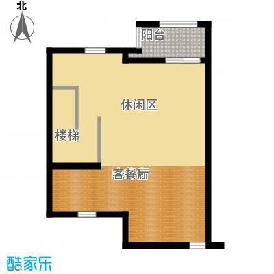 绿地诺丁山110.00㎡n1东-4F阁楼层户型