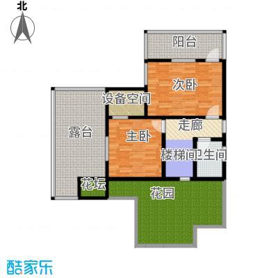 檀香海103.77㎡一层平面图户型10室
