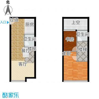YOHO湾91.57㎡户型10室