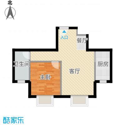 福汇华庭49.07㎡G户型10室