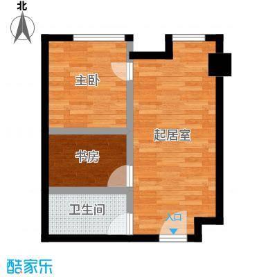 YOHO湾73.00㎡平层D4G-4户型2室2厅1卫
