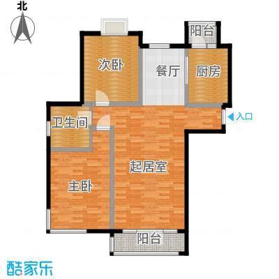 香水湾114.85㎡D1户型10室