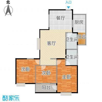 海�新天130.11㎡C户型3室1厅2卫