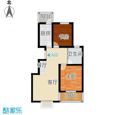 福汇华庭78.47㎡楼层平面图户型10室