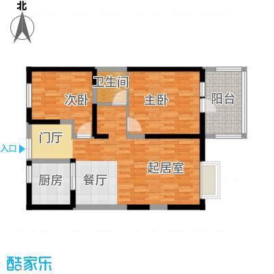 四季风情91.56㎡1II5-1-105户型10室