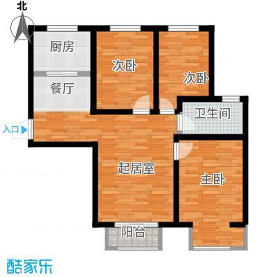 富贵嘉园84.02㎡-10793~户型10室