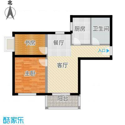 橙堡78.00㎡D户型10室