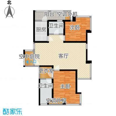 海河大道宽景公寓104.82㎡19号楼金角户型10室