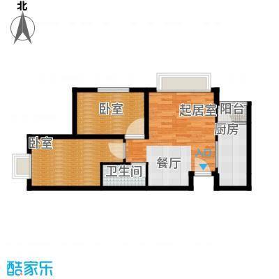 富贵嘉园77.88㎡-户型10室