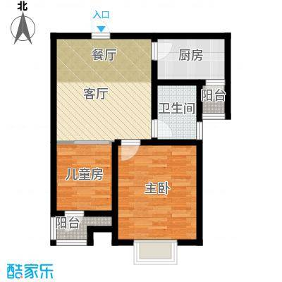 弘泽天泽61.37㎡户型10室