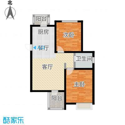 弘泽天泽92.06㎡户型10室