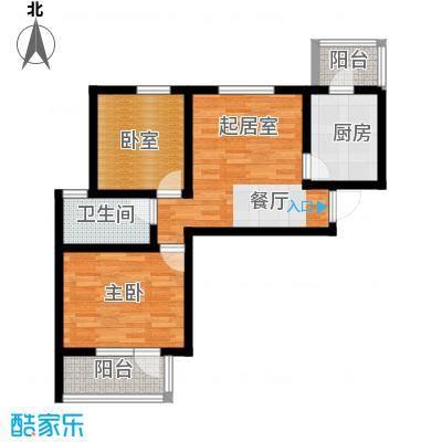 峰尚花园65.80㎡户型10室