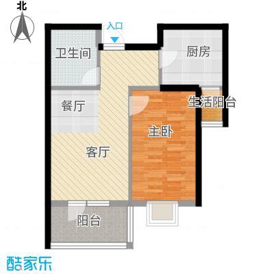 弘泽城58.52㎡20号楼户型10室