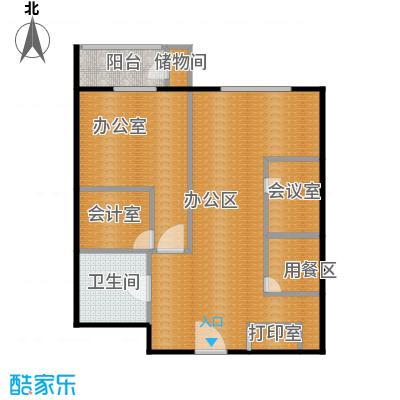 滨海先锋SOHO78.00㎡A3改造后户型10室