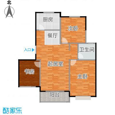 弘泽城118.00㎡14号楼-D户型10室