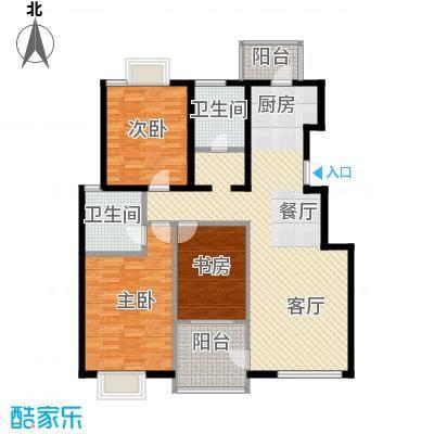 弘泽天泽112.45㎡户型10室
