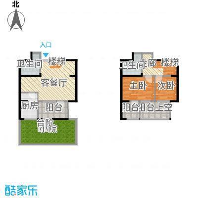 公园六号105.98㎡B1平面图首层户型10室