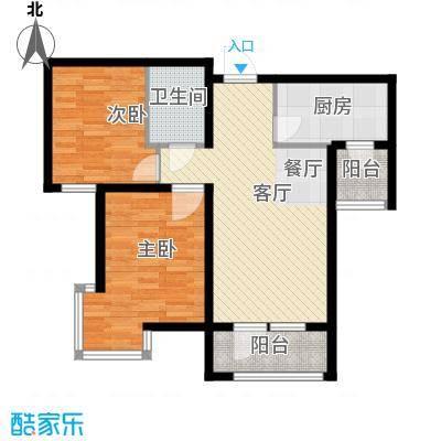 峰尚花园72.86㎡户型10室