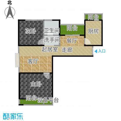 弘泽城90.00㎡15、23号楼-E-户型10室