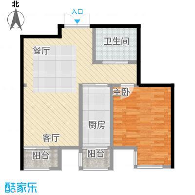 天保金海岸明珠湾77.00㎡户型10室